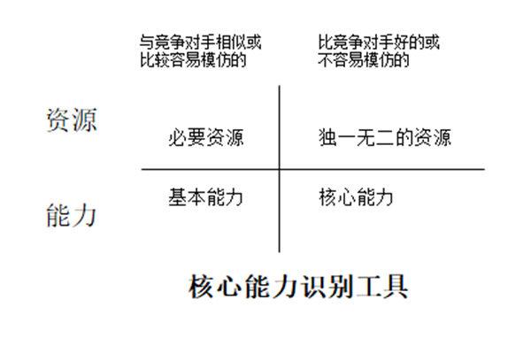 企业资源与能力分析